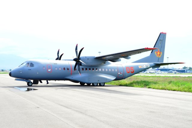 Kazakhstan Air Force receives a fifth C 295 transport aircraft 640 001