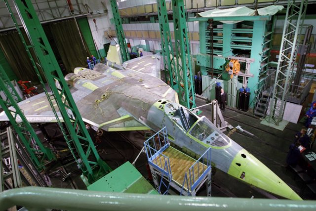 UAC now gearing up for T 50 PAK FA low rate initial production batch 640 001