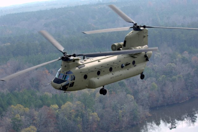 Boeing wins a  896Mn order from US Army for 39 CH 47F Chinook helicopters 640 001
