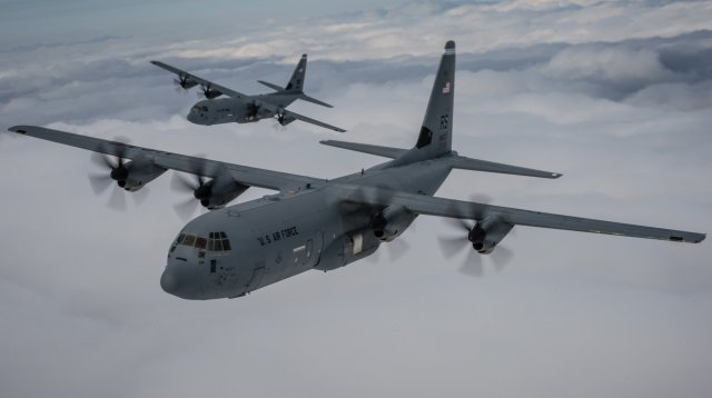 Lockheed Martin wins 1 5 bn contract to produce 28 C 130J Super Hercules airlifters 640 001