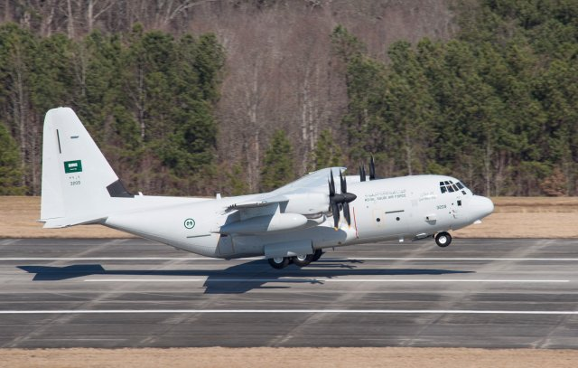 Royal Saudi-Air Force takes delivey of two KC 130J aerial refueling aircraft 640 001