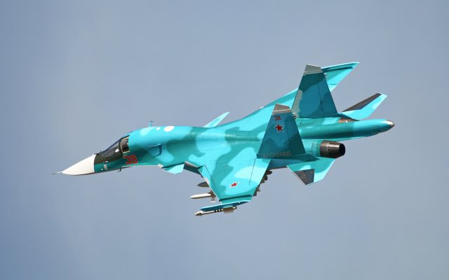 New batch of four Su 34 fighters delivered to Russian Aerospace Force 640 001