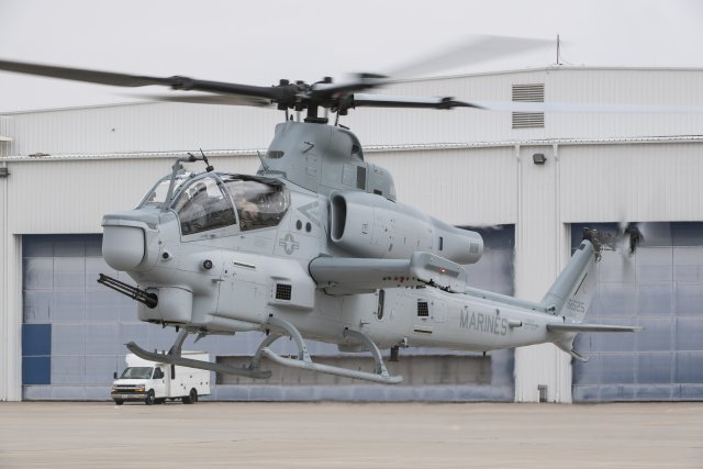 Bell and IAR to jointly promote AH 1Z attack helicopter in Romania 640 001