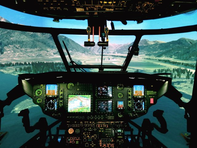 Thales to upgrade simulators for Switzerland s H135M and AS532 helicopters 640 001