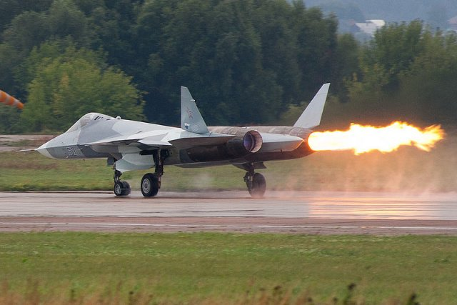 UEC starts testing new izdeliye 30 engine for PAKFA fighter jet 640 001