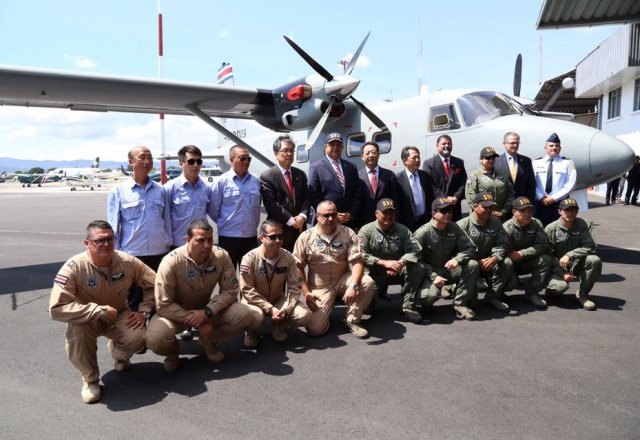 AVIC hands over two Y 12E aircraft to Costa Rica s Air Vigilance Servic 640 001