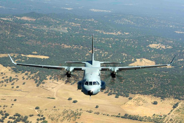 Expal and Airbus move forward with weaponized C295W military airlifter 640 001