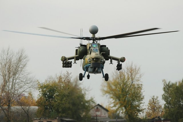Russia MI 28NM performs first flight 640 001