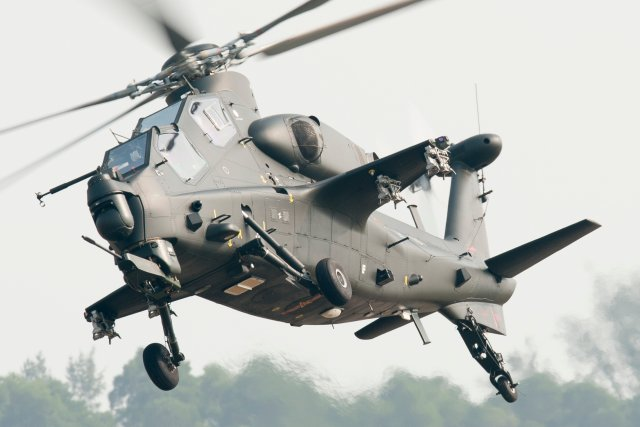 WZ 1  attack helicopter now deployed in all PLA aviation units 640 002