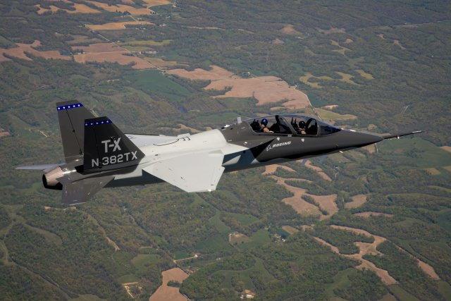 Boeing Saab successfully fly second production ready T X jet trainer 640 001