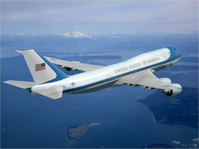 Boeing awarded USAF order to provide two 747 8 Presidential aircraf 640 001