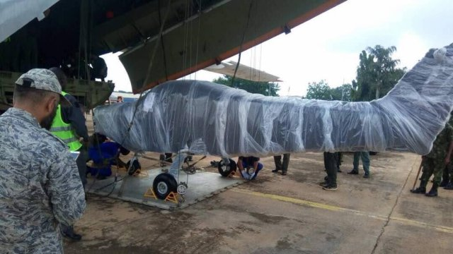 Nigerian Air inducts ve new Super Mushshak trainer aircraf 640 001