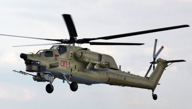 Russia new Mi 28UB combat helicopter to be field tested in Syria 640 001