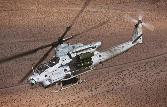 Bell ands a 423mn US Navy contract for 25 AH 1Z Viper attack helicopters 640 001