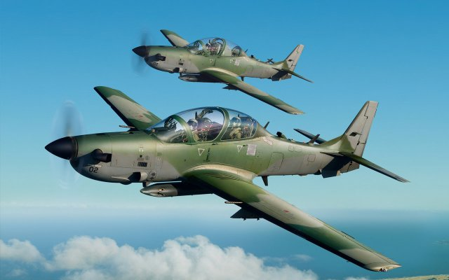 Brazil approves sale of three used Super Tucano light attack aircraft to Nigeria 640 001