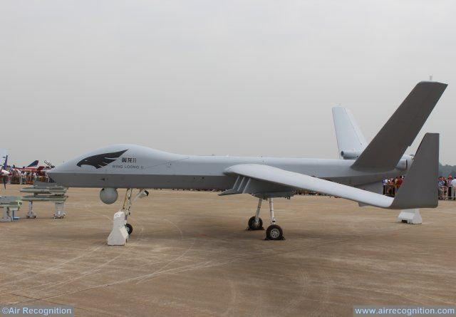China homemade wing loong II male UAS 640 001