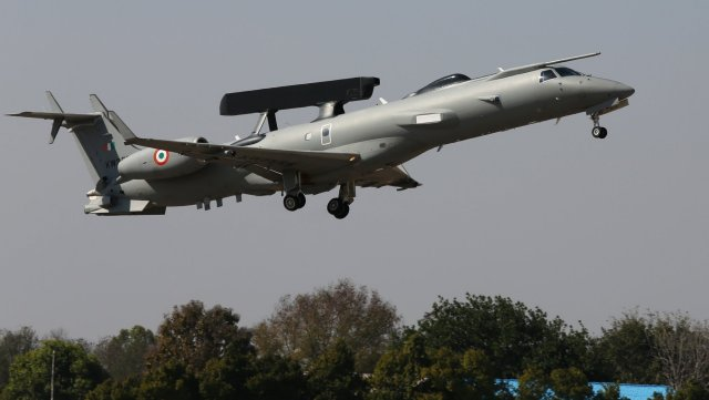 First Make in India AEW C aircraft handed over to Indian Air Force 640 001