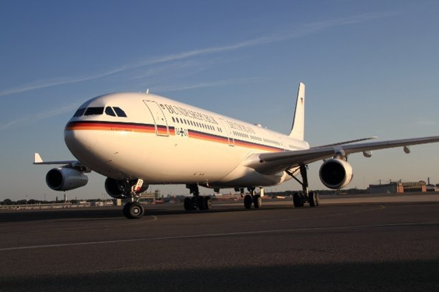 Germany upgrading its Konrad Adenauer presidential transport aircraft 002