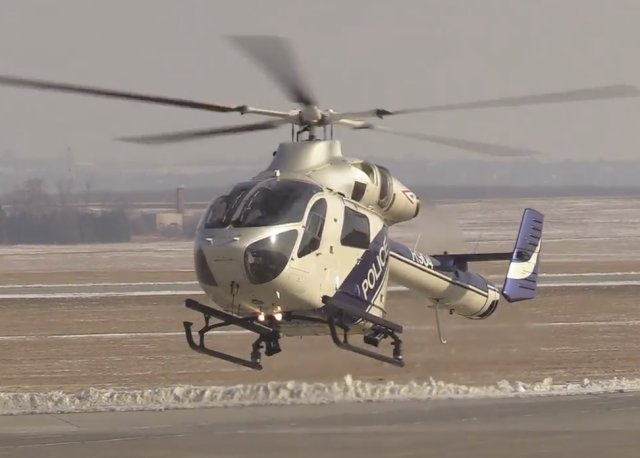 Hungarian National Police takes delivery MD902 Explorer helicopters 640 002