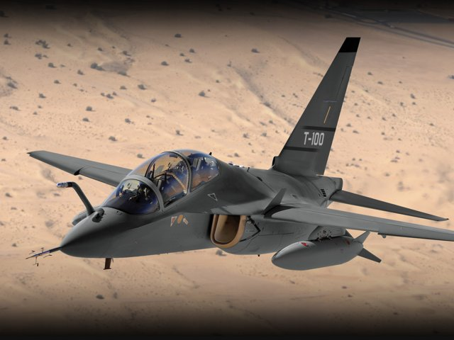 Leonardo back in USAF T X competition with its T 100 jet trainer 640 001
