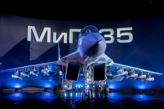 UAC Russia likely to sign contract for 30 production MiG 35 fighter jets by 2019 640 001