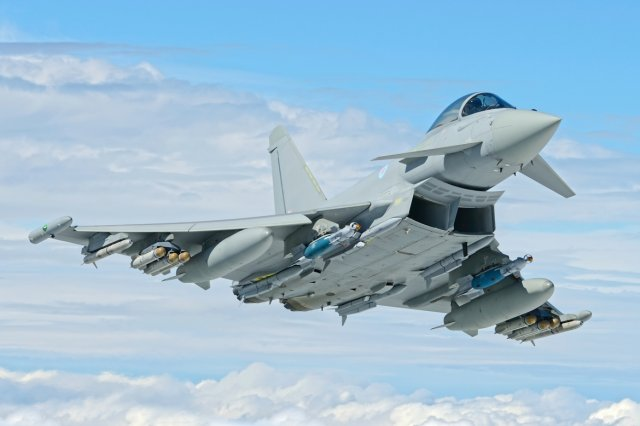 Eurofighter GmbH lands a 5 year contract to support global Typhoon fleet 640 001