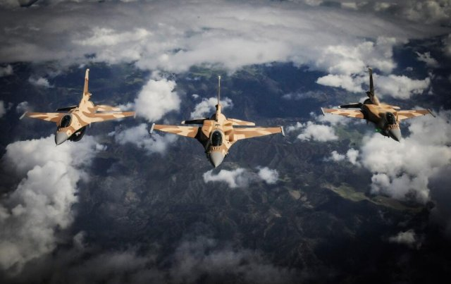 Harris to provide electronic warfare systems for Royal Moroccan Air Force s F 16 fighters 640 001