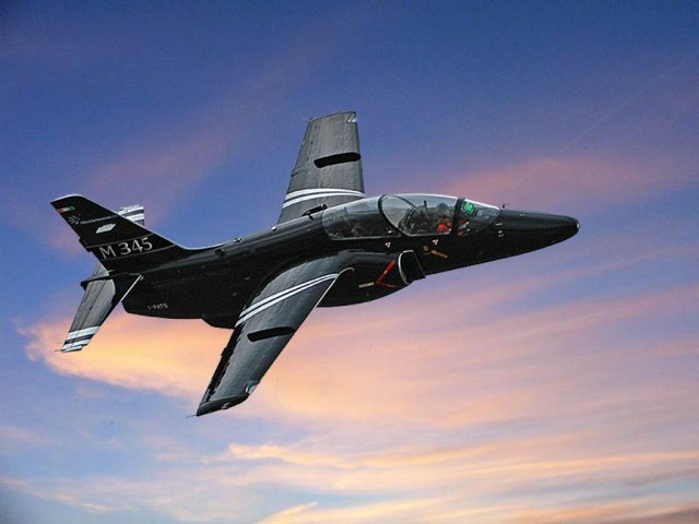 Italy orders initial batch of five M 345 jet trainer aircraft 640 001