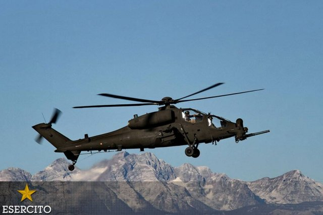 Leonardo contracted to develop Italian Army A129 combat helicopter s successo 640 001