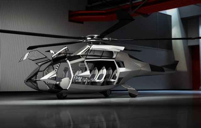 Bel unveils ts vision for the future through FCX 001 helicopter concept 640 002