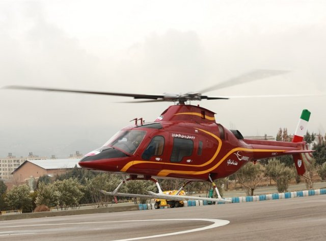 Iran unveils homegrown Saba 248 utility helicopter 640 001