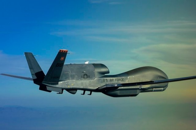Northrop starts flight testing MS 177 sensor payload on RQ 4 Global Hawk 640 001