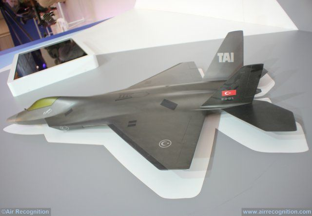 IDEF 2017 Turkey progressing towards TF X next gen fighter jet development 640 004