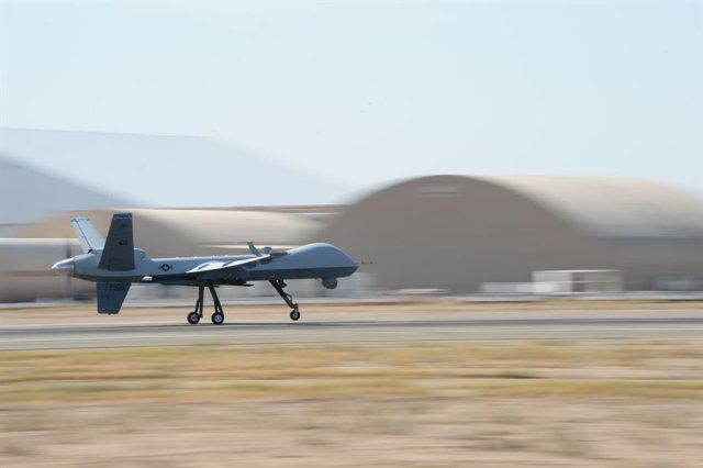 GA wins 17 5 mn USAF contract to integrate GBU 39B SDB on MQ 9 Reaper 640 001