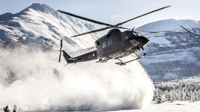 Patria to support Norway s fleet of Bell 412SP helicopter 640 001