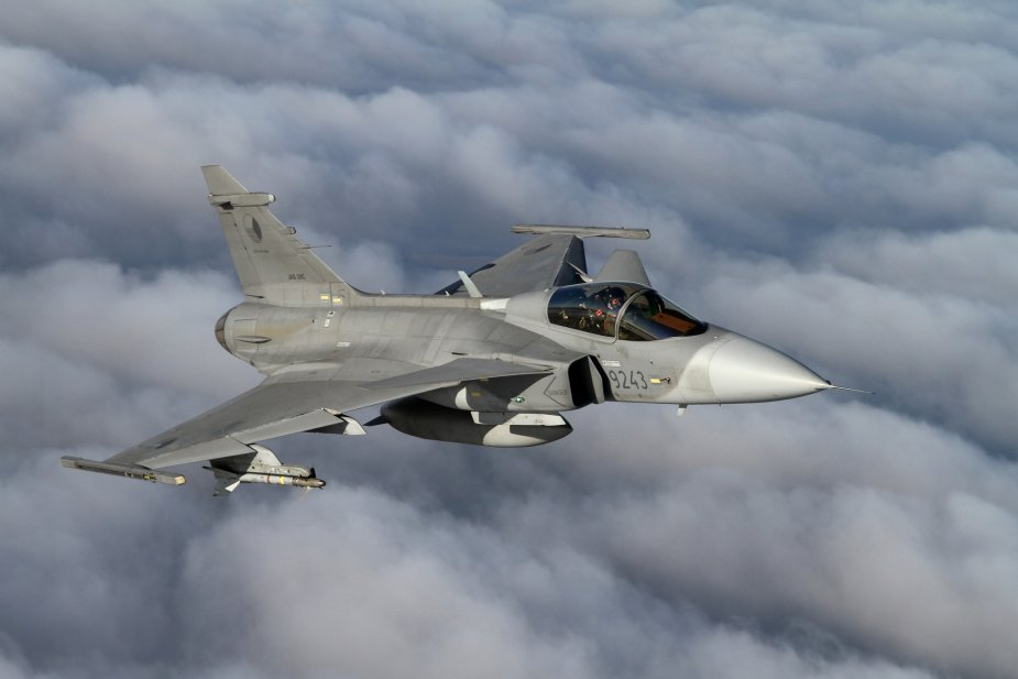 Czech Air Force s Gripen fighter jets completed MS 20 upgrade 001