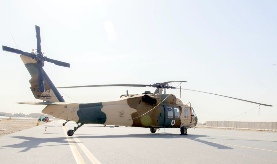 Afghan UH 60 Black Hawks mission ready this summer