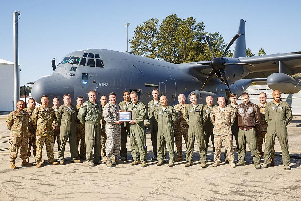 Lockheed Martin delivers first HC 130J Combat King II to CANG