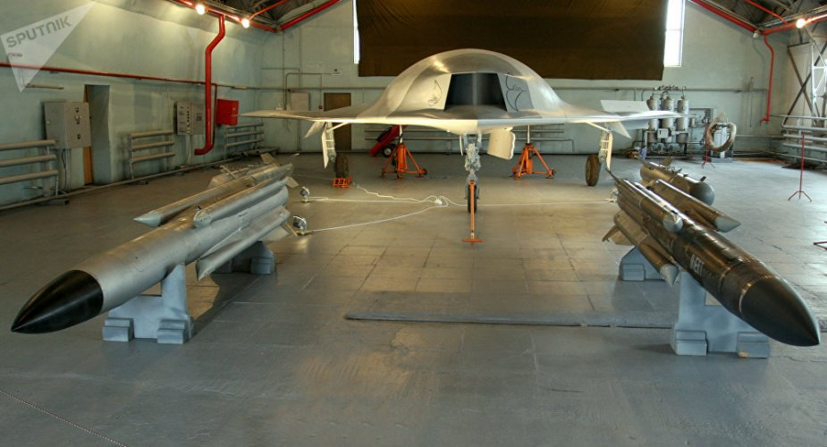 Sukhoi Okhotnik UCAV could  by year end 001