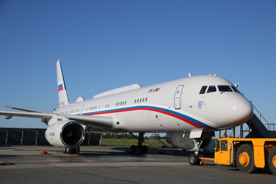 Russia receives second Tu 214PU SBUS special purpose aircraft