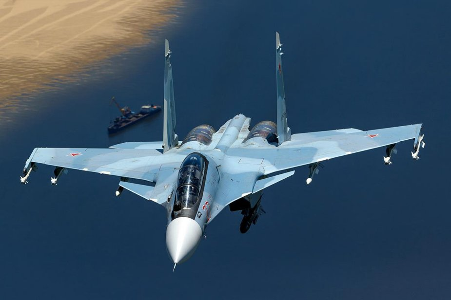 Su 30SM fighter jet officially accepted into VVS service 001