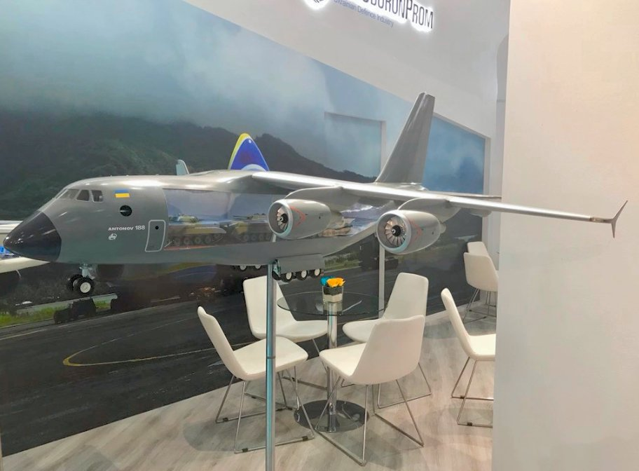 Ukrain Turkey to jointly work on An 188 airlifter project 001