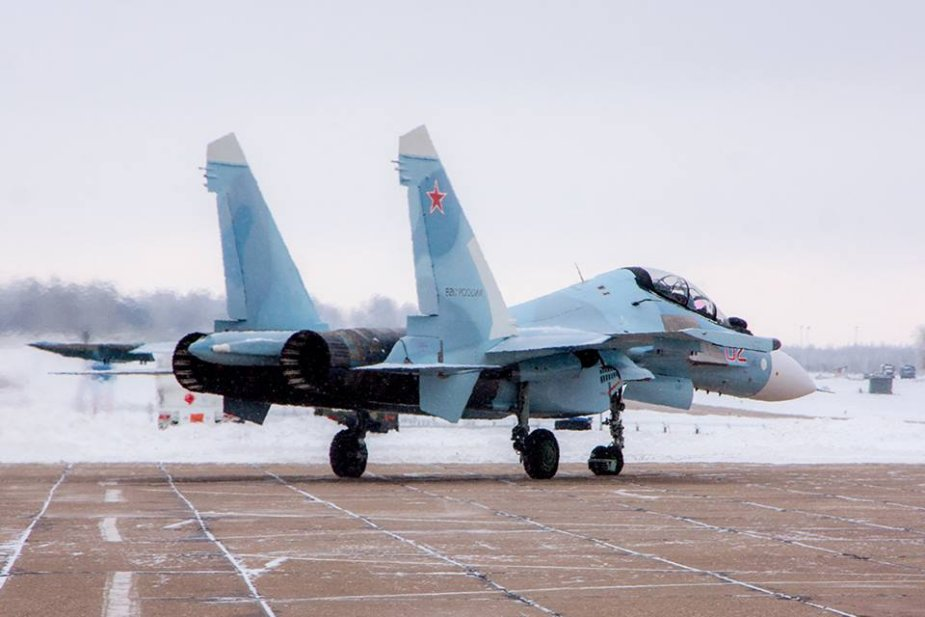 Irkut readying Russian Air Force final batch of Su 30SM fighters 001