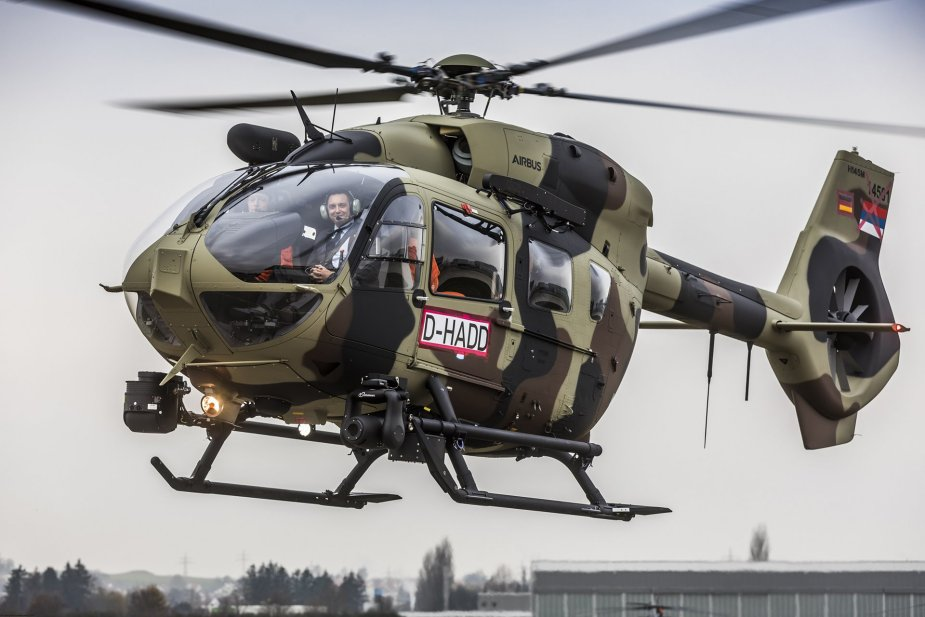 Serbia receives first H145M twin engine helicopter 001