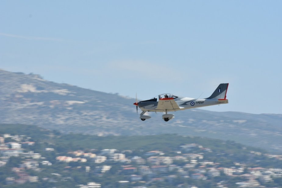 Hellenic Air Force receives first P2002JF trainer aircraft 001