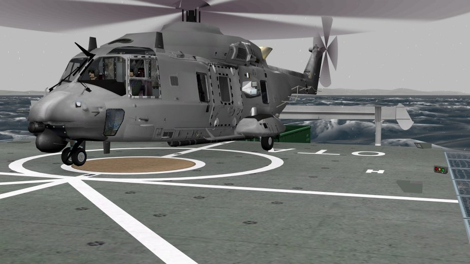 RNZAF orders one CAE 700MR Series NH90 flight training device 001