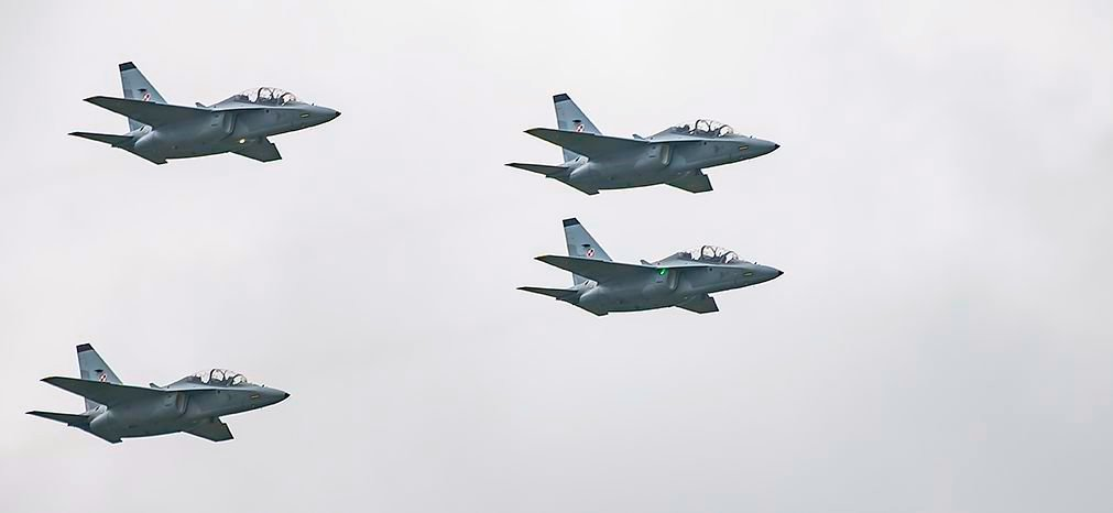 Poland exercises option for four additional M 346 jet trainers 001