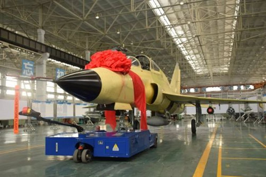 GAIC rolls out first FTC 2000G multirole fighter jet 001