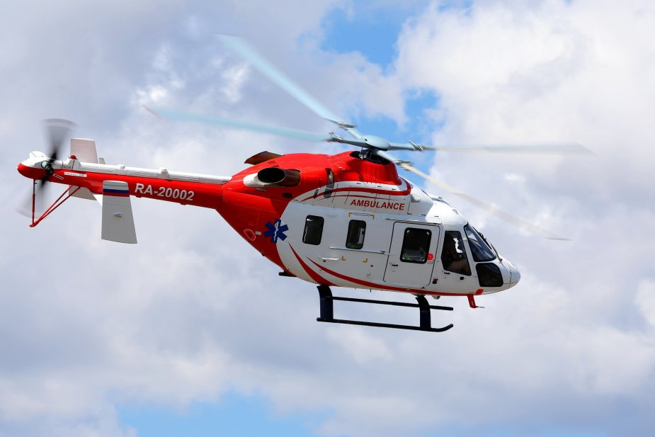 Russian Helicopters lands massive orders for 150 medical helicopters 001