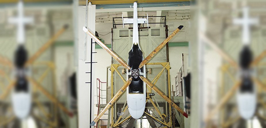 TsAGI completes Ansat helicopter upgraded rotor testing 001
